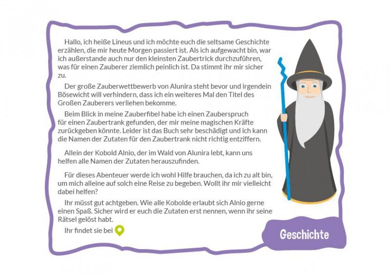 Hervorragend Lineus der Zauberer - 6-7 Jahre - Zalunira Österreich BN36