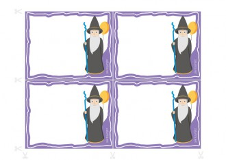 Einladungen für Geburtstagsfeiern zum Ausdrucken - Lineus der Zauberer